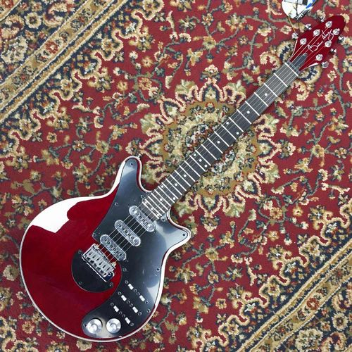 Brian May Red Special Guitar Antique Cherry BMW Red
